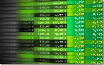 Hausse des marchés