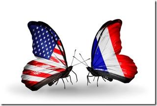 Bourse américaine et française