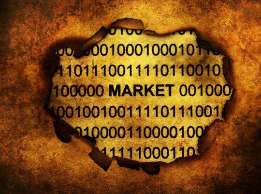 Data market on paper hole