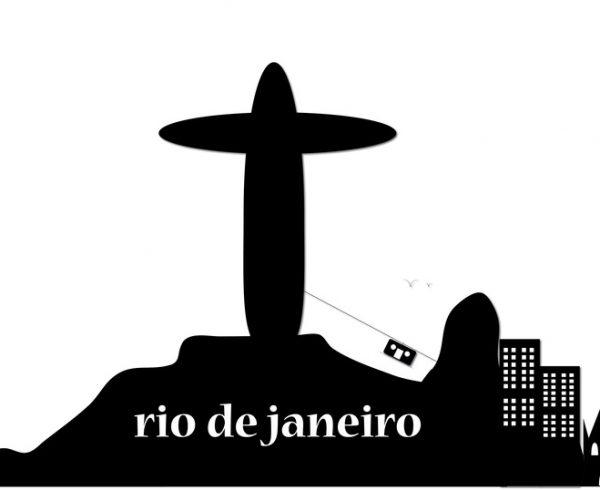 silhouette Rio de Janeiro