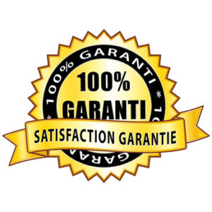 100 % garanti. Satisfaction produit garantie.